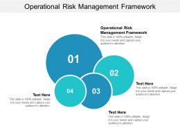 Operational Risk Management Framework Ppt Powerpoint Presentation File Portrait Cpb