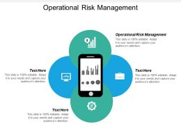 Operational Risk Management Ppt Powerpoint Presentation Slides Background Image Cpb