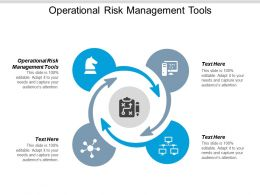 Operational Risk Management Tools Ppt Powerpoint Presentation Model Gallery Cpb