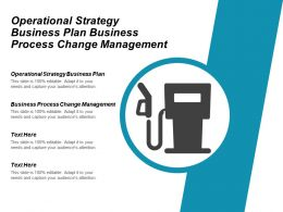 Operational Strategy Business Plan Business Process Change Management Cpb
