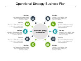 Operational Strategy Business Plan Ppt Powerpoint Presentation Gallery Inspiration Cpb