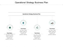 Operational Strategy Business Plan Ppt Powerpoint Presentation Ideas Design Templates Cpb