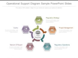 Operational Support Diagram Sample Powerpoint Slides