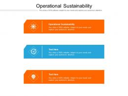 Operational Sustainability Ppt Powerpoint Presentation Portfolio Example File Cpb
