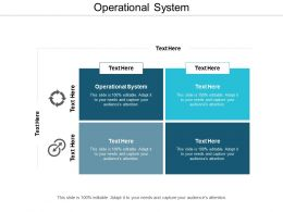 Operational System Ppt Powerpoint Presentation Gallery Ideas Cpb