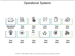 Operational Systems Ppt Powerpoint Presentation Slides Graphics Pictures Cpb