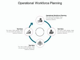 Operational Workforce Planning Ppt Powerpoint Presentation Model Cpb