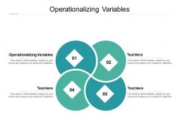 Operationalizing Variables Ppt Powerpoint Presentation Infographics Pictures Cpb