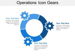 Operations Icon Gears