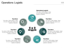 Operations Logistic Ppt Powerpoint Presentation Icon Deck Cpb