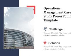Operations Management Case Study Powerpoint Template
