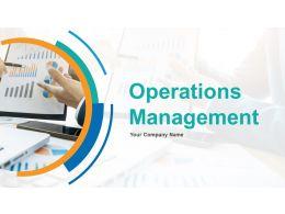 Operations Management Powerpoint Presentation Slides