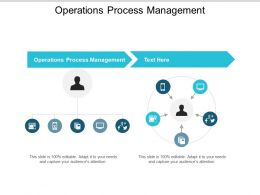 Operations Process Management Ppt Powerpoint Presentation Infographics Master Slide Cpb