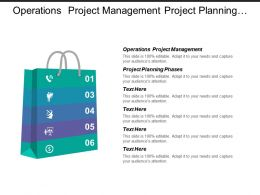 operations project management project planning phases stakeholder assessment cpb