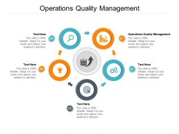 Operations Quality Management Ppt Powerpoint Presentation Inspiration Layouts Cpb