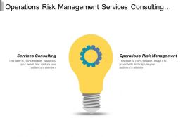 Operations Risk Management Services Consulting Retailer Category Pricing Strategy Cpb