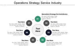 Operations Strategy Service Industry Ppt Powerpoint Presentation Infographics Structure Cpb