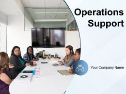 Operations Support Analyzing Process Strategy Opportunities Improvement