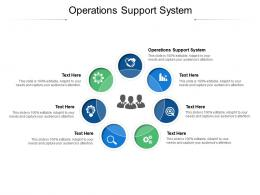 Operations Support System Ppt Powerpoint Presentation Summary Styles Cpb