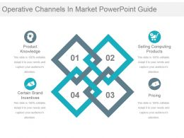 Operative Channels In Market Powerpoint Guide