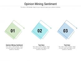 Opinion Mining Sentiment Ppt Powerpoint Presentation File Graphics Tutorials Cpb