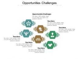 Opportunities Challenges Ppt Powerpoint Presentation File Mockup Cpb