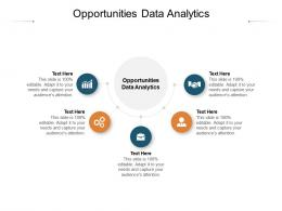 Opportunities Data Analytics Ppt Powerpoint Presentation Inspiration Backgrounds Cpb