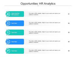Opportunities HR Analytics Ppt Powerpoint Presentation Styles File Formats Cpb