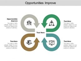 Opportunities Improve Ppt Powerpoint Presentation Icon Gridlines Cpb