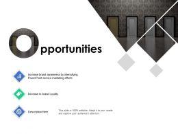 Opportunities Marketing B267 Ppt Powerpoint Presentation Ideas Styles