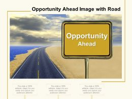 Opportunity Ahead Image With Road