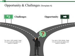 Opportunity And Challenges Powerpoint Templates Download