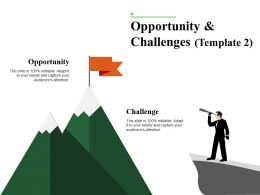 Opportunity And Challenges Ppt Presentation