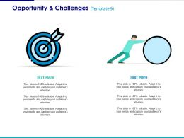 Opportunity And Challenges Ppt Styles Design Templates