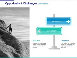 Opportunity And Challenges Ppt Summary Slide Download