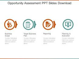 Opportunity Assessment Ppt Slides Download