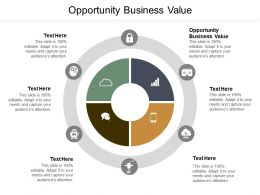 Opportunity Business Value Ppt Powerpoint Presentation Layouts Demonstration Cpb