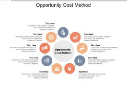 Opportunity Cost Method Ppt Powerpoint Presentation Layouts Portrait Cpb