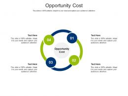Opportunity Cost Ppt Powerpoint Presentation Layouts Design Ideas Cpb