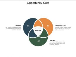 Opportunity Cost Ppt Powerpoint Presentation Summary Design Templates Cpb