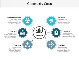 Opportunity Costs Ppt Powerpoint Presentation Gallery Portfolio Cpb