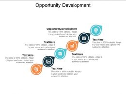 Opportunity Development Ppt Powerpoint Presentation Ideas Picture Cpb