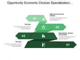 Opportunity Economic Choices Specialization Division Consumption Purchase Inspection