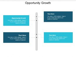 Opportunity Growth Ppt Powerpoint Presentation Infographics Inspiration Cpb