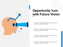 Opportunity Icon With Future Vision
