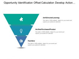 Opportunity Identification Offset Calculation Develop Action Decision Point