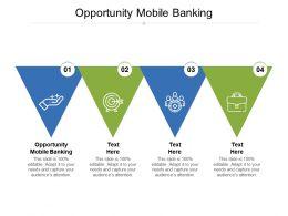 Opportunity Mobile Banking Ppt Powerpoint Presentation Portfolio Topics Cpb