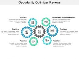 Opportunity Optimizer Reviews Ppt Powerpoint Presentation Portfolio Design Ideas Cpb