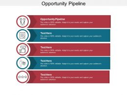 Opportunity Pipeline Ppt Powerpoint Presentation Infographic Template Example Introduction Cpb