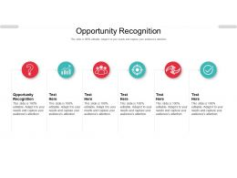 Opportunity Recognition Ppt Powerpoint Presentation Model Example Introduction Cpb